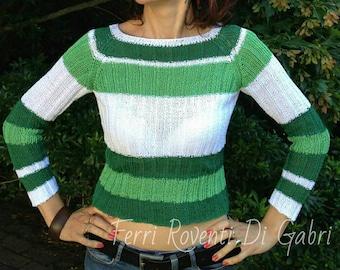 Summer cotton sweater