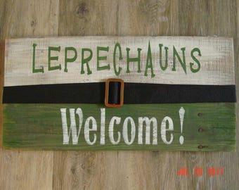 Leprechauns Welcome !