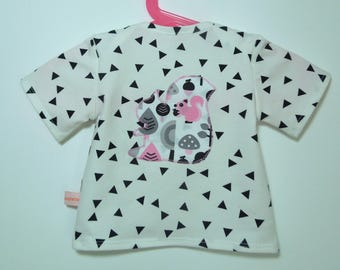 "T-shirt ""Squirrel"", short sleeves, 6M."