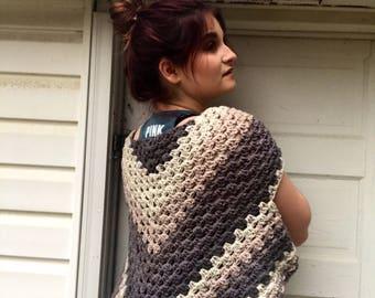 Crochet Wrap | Crochet Shawl | Crochet Scarf | Crochet Vest