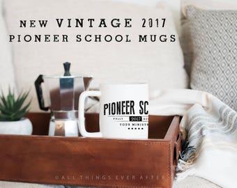 Pioneer School Gift | JW | vintage MUG | Fully Accomplish Your Ministry | 2 Tim 4:5 | Elder's | Gift | Baptism | Present | Jw Org