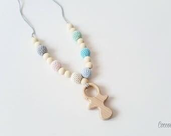 """Lactating necklace """"Pacifier pastel"""""""