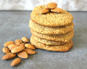 Paleo Cookies, or Pine Nuts Paleo Cookies, Low Carb, Gluten & Dairy Free, Low Fat, All Natural, 6 or 12 pcs