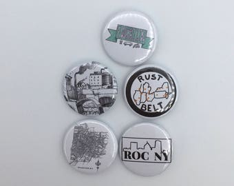 Rochester NY button pins