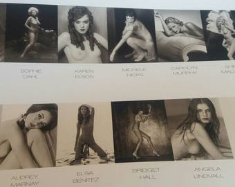 calendar PIRELLI 1999 limited edition numbered