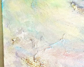 Almost First - Abstract Art - Mixed Media - 24 x 30 Canvas