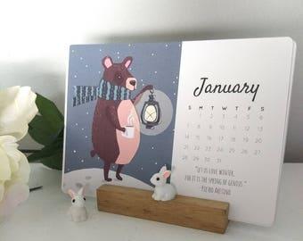 2018 Calendar- Illustrated Quotes