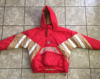 Starter San Francisco 49ers Pullover Winter Jacket XL