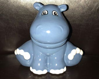 Seal piggy bank ceramic piggybank personalized baby gift baby hippo piggy bank personalized baby gift piggybank hippo piggy bank ceramic custom hand painted baby negle Image collections