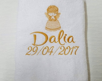 Christening Towel Personalised Towel