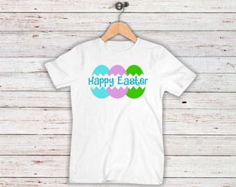 Happy Easter Iron On Decal| Easter Eggs| Easter Iron On Decals| Diy Iron On| NEXT DAY SHIPPING!!