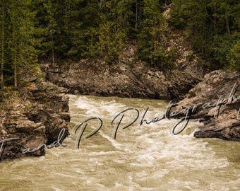 Digital download photography, RIVER, TREES, NATURE, digital photo, printable art, nature photography, instant download, home decor, wall art