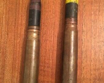 Vintage 1953 20MM M21A1 CARTRIDGES