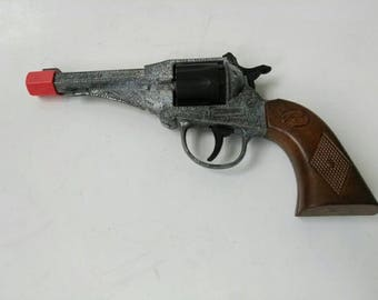 Vintage Italian Edison Giocattoli Toy Cap Gun made in Italy