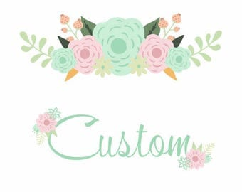 EMBROIDERY ADD ON - Name or Monogram