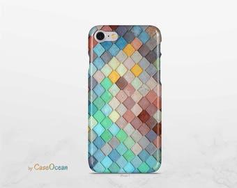 Phone case, iPhone X 8 7 6 6s Plus phone case iPhone SE 5 5s phone case Samsung Galaxy S8 Plus S7 Edge S6 phone case, watercolor phone case