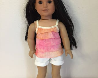 """Fits like American Girl Doll Clothes 18"""""""
