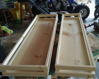 Custom crates x2