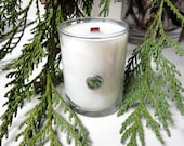 Glass Votive Candle with Embellishment