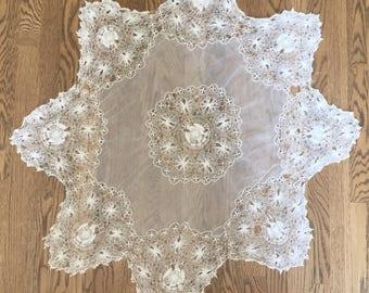 Vintage Delicate Lace Doily