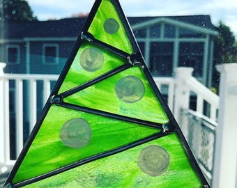Stained glass tree | Etsy