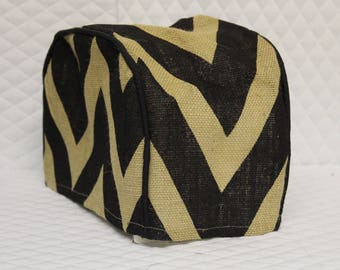 Large Chevron 2 Slice Toaster Cover