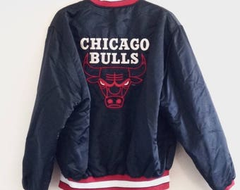 Chicago Bulls Shain of Canada Vintage Basketball Jacket