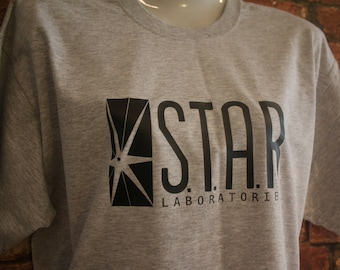 Star Labs T shirt inspired by the Flash TV Show