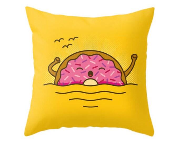 Good Morning! Pillow - Cute Doodles