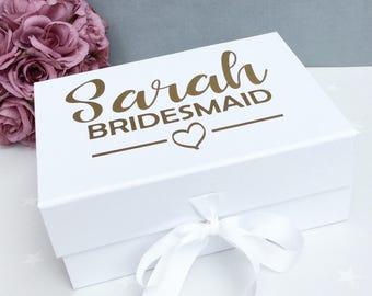Bridesmaid Keepsake Gift Box