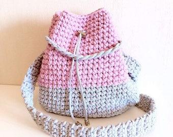 Knitted bag hand made, torba, handmade bag, knitted bag. Сумка-торба, сумка ручной работы, вязаная сумка