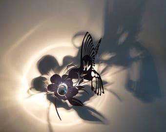 Light glossy black Hummingbird