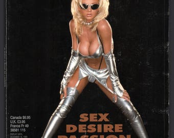 Mature Vintage Playboy Special Edition Mens Girlie Pinup Magazine : Playboy's Book Of Lingerie November/December 1995