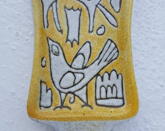 Italian Ceramic  Wall Hanging .