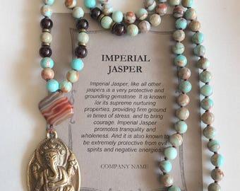 Imperial Jasper 108 Mala