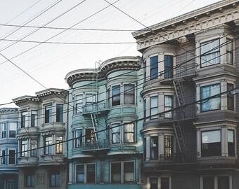 San Francisco Photography, San Francisco Poster, San Francisco Print, City Print, Vintage Wall Art, Vintage Home Decor, Fine Art Photography