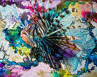 Aquasition: #2 Lion Fish