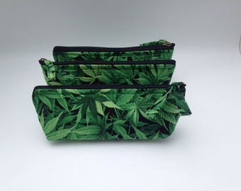 Zippered Pipe Pouch