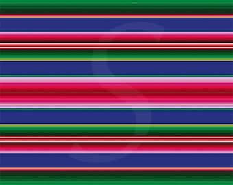 Oracal 651 Pattern Vinyl - Serape by Sparkle Berry