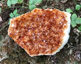 Large Citrine Cluster, Raw, 462.0 Grams, CR2041