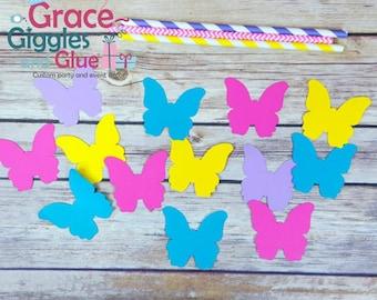 20pc (2inch) butterfly confetti