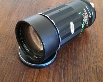 Vintage Soligor 200 mm f3,5 Tele Lens for Minolta SLR Cameras
