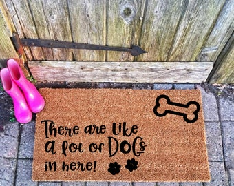 outdoor front door matsDog doormat  Etsy