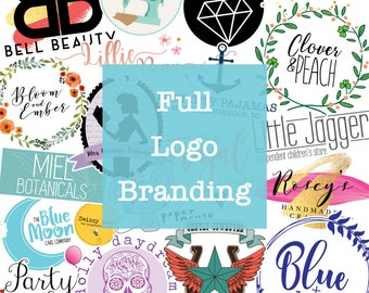 Full Branding Package - Custom Logo Design - Bespoke Logo Design - Unique Logo - One Off Design - Business Branding - Company Logo