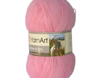 Angora de luxe YARNART, mohair and acrylic yarn, lots of yarn, yarn palette, winter yarn, Turkish yarn, high quality