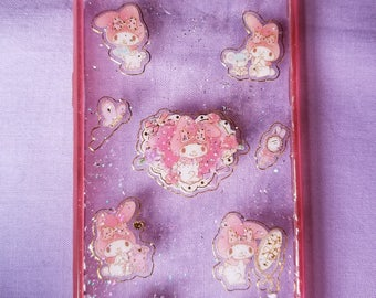 My Melody resin phone case for Samsung S6