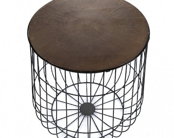 Wire basket table Base IV