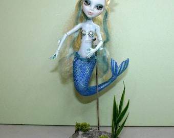 OOAK Monster High Repaint Lagoona Mermais