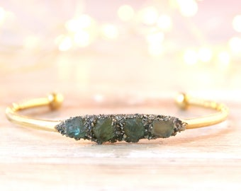March Birthstone, Aquamarine Stone Jewelry, Aquamarine Gemstone Jewelry, Birthstone Jewelry for March, Raw Aquamarine Jewelry