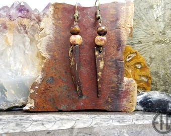 Wooden Boho Earrings